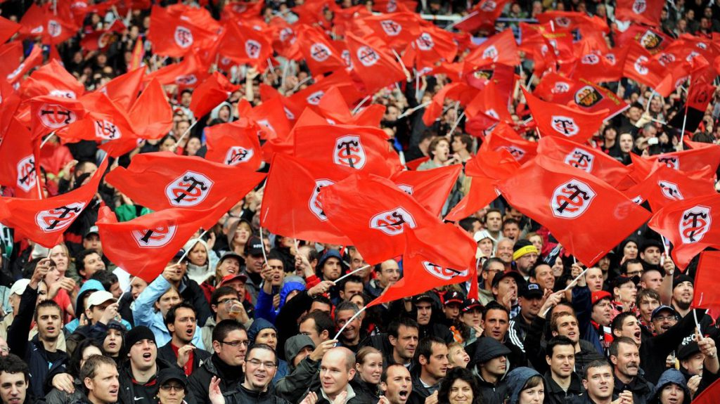 Supporters Stade Toulousain